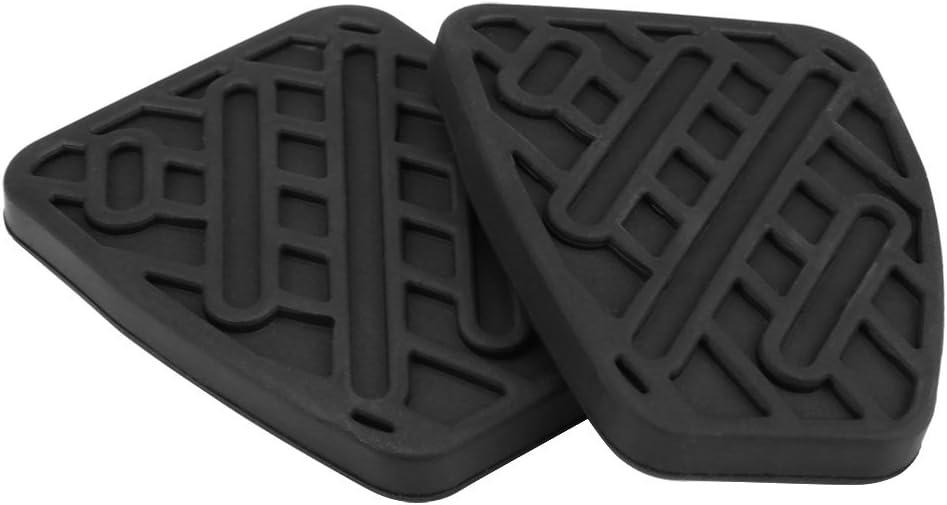 Garniture de p/édale dembrayage de frein 1 paire de couvercle en caoutchouc de garniture de p/édale dembrayage de frein automatique pour 2007-2016