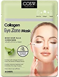 COS.W Smoothing Collagen Eye Pads with Vitamin E for Dark Circles and Puffiness (60 Count)