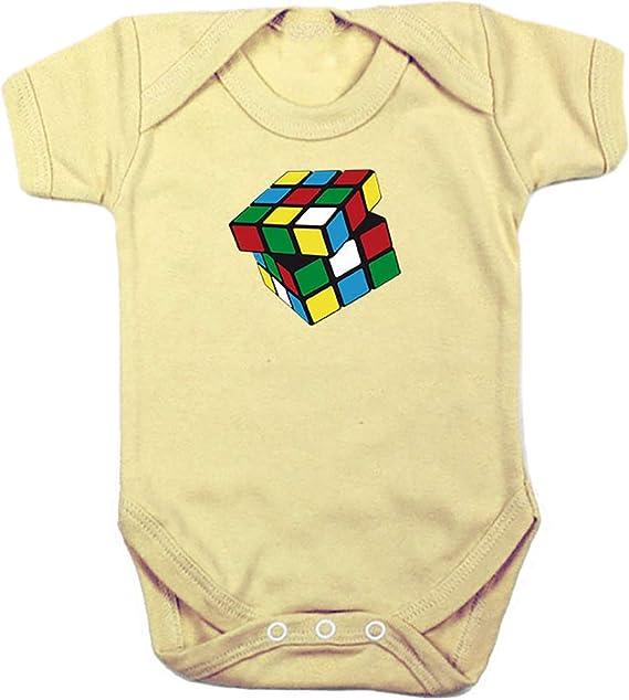 Camisetas EGB Body Bebé Cubo Rubik ochenteras 80Žs Retro: Amazon.es: Ropa y accesorios