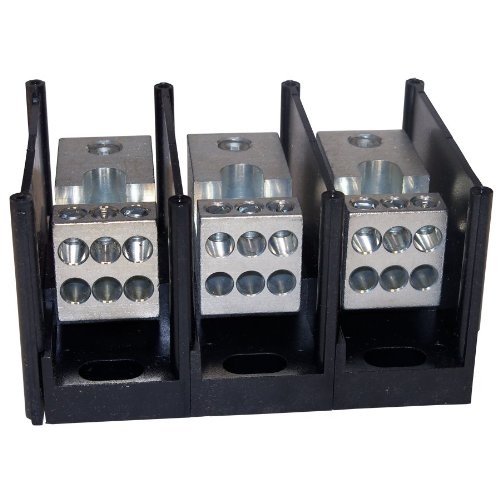 Mersen MPDB67563 Alum Pwr-Dist Block 3P by Mersen