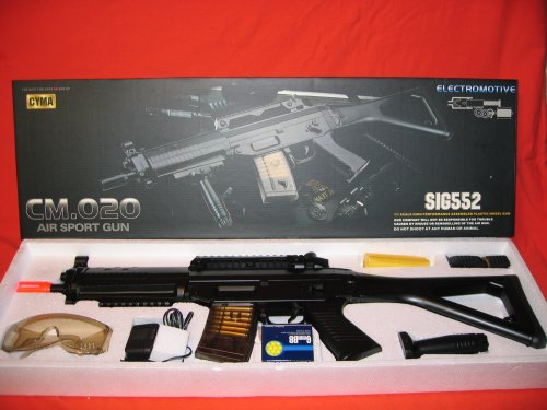 Style Aeg Rifle (S552 Style Airsoft Electric Gun)