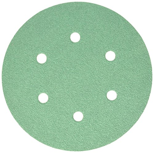 Sunmight 01805 Velcro Disc Grit (Film - 6'' 6 Hole 60), 1 Pack by Sunmight