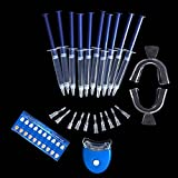 Genmine Teeth Whitening Gel Syringes Refills Pack Dental Bleaching System Oral Gel Kit Tooth Whitener