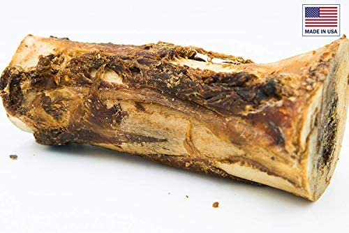 Unified Pet Beef Marrow Bones for Dogs – 100 All Natural, Hickory Smoked, Premium Dog Bones – Sourced and Made in USA