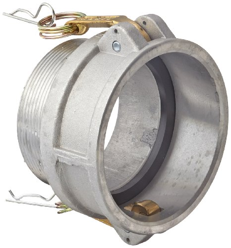 Dixon G400-B-AL Aluminum A380 Global Type B Cam and Groove Hose Fitting, 4