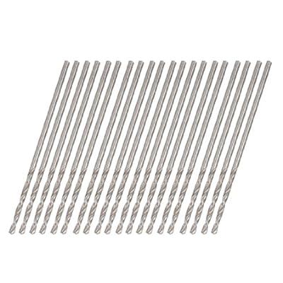 uxcell 0.9mm Straight Shank Electrical Twist Drill Bit 20 PCS