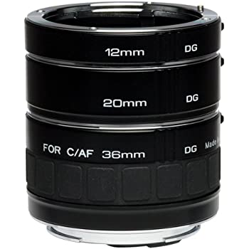 Kenko DG Auto Extension Tube Set for the Canon EOS AF Mount.