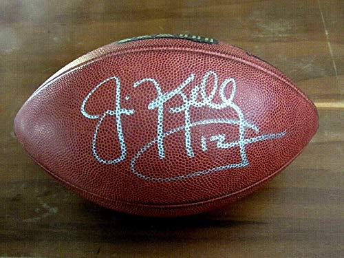 Autographed Jim Kelly Ball - Hof Superbowl Xxxi Sb Duke - JSA Certified - Autographed Footballs