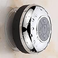 HotelSpa Chrome IPX4 Waterproof Bluetooth Shower Speaker