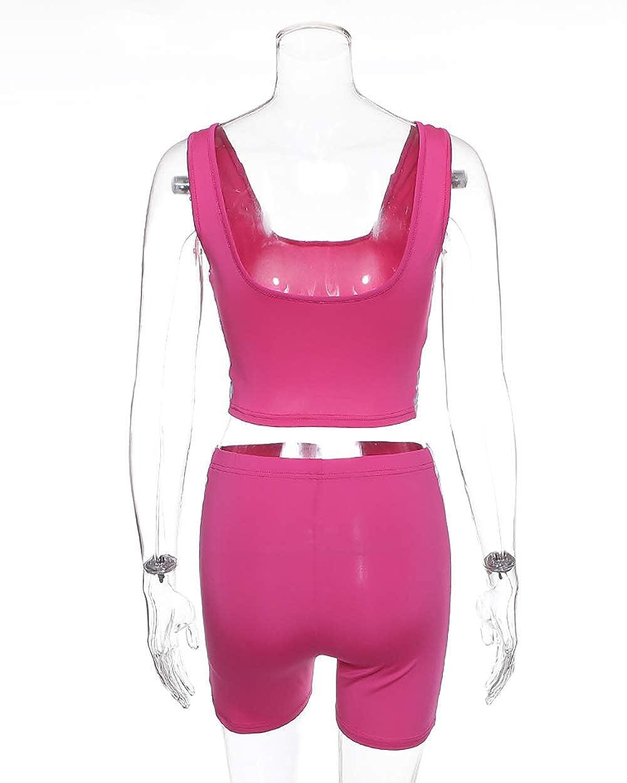 gagaopt Women Tracksuit Sweatsuit Sport Yoga Set Outfit Jogging 2 Piece