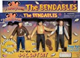 The Three Stooges Bendables Set