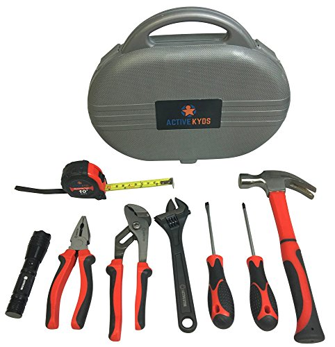9 Piece Kids Tool Set