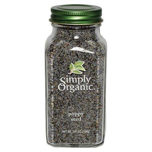 Simply Organic Btl Poppy Seed Org