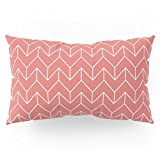 Society6 Chevron Pillow Sham King (20'' x 36'') Set of 2