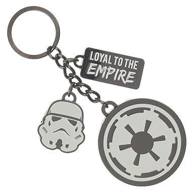 Amazon.com: Star Wars - Llavero de Imperio Galáctico, diseño ...