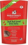 Stella & Chewy's Freeze-Dried Raw Duck Duck Goose Dinner Patties Dog Food, 15 oz. bag