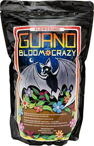 Hydrofarm BGC2001 Flowering Guano Bloom Crazy 0-5-0, 2Lb Bag
