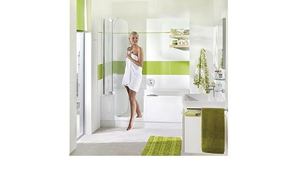 Bañera con puerta y ducha 160 Artweger Twin Line 2 con suela Zona Perfil Plata Mate: Amazon.es: Bricolaje y herramientas