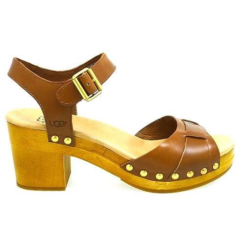 Mujer Ugg 41amazon Cuero Janie Zapatos Esy F1klcjt Sandalias oxWrEdeQCB