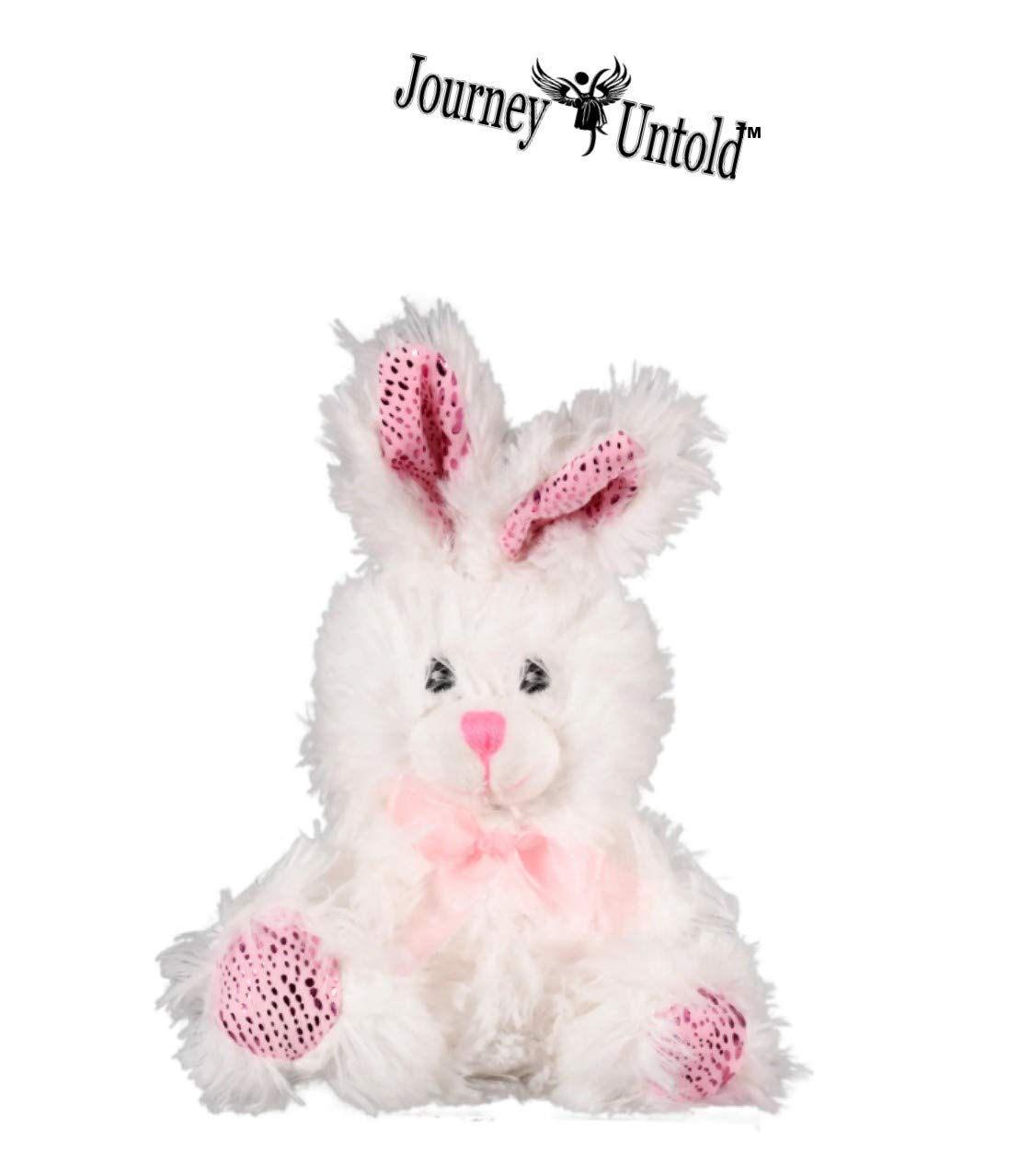 Kids Girls Boys Girl Toddlers Gift Egg Toddler Gifts Themed Decorations Toys Stuffers White Scented Bear Bonus ROZALYN Clip BCL Happy Easter Baskets