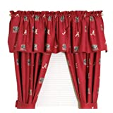 NCAA Alabama Crimson Tide Collegiate Window Valance