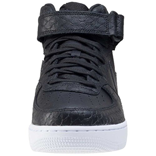 blanc Espadrilles ball De Mid '07 Nike Force Noir Basket 1 Noir Homme Air Lv8 YWOgT