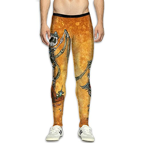 (Fri Sugar Skull Heat Compression Pants/Running Tights Cycling Pants Women's Spandex)