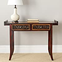 Safavieh American Homes Collection Tulle Classical Brown Console Table