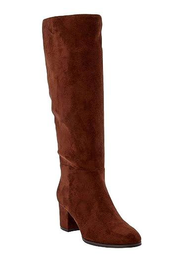 9781c89fa7c The Daniela Wide Calf Boot - Chestnut