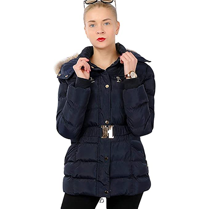 buy popular fcaae 91543 Piumino Donna Invernali Slim Fit Outwear Cintura Inclusa con ...