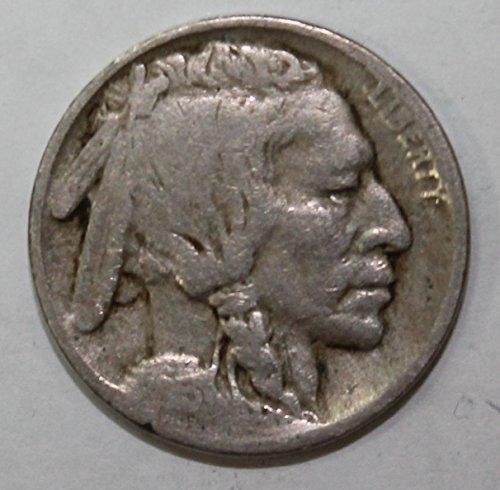 1913 P Type 2 Buffalo Nickel 5c Good or Better