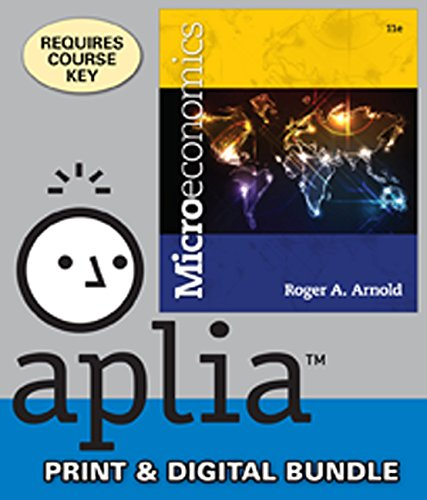 Bundle: Microeconomics (with Videos: Office Hours Printed Access Card), 11th + Aplia™, 1 term Printed Access Card