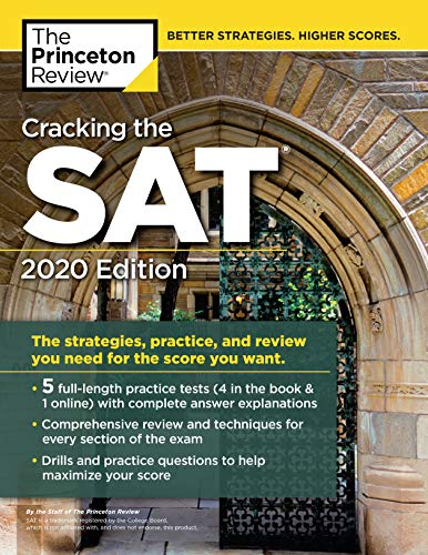Pdf Teen Cracking the SAT with 5 Practice Tests, 2020 Edition (College Test Preparation)