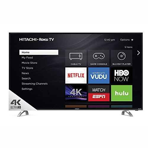 "Hitachi 49"" Class 4k UHD HDR TV with Roku TV - 49R80"