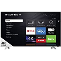 Hitachi 49 Class 4k UHD HDR TV with Roku TV - 49R80