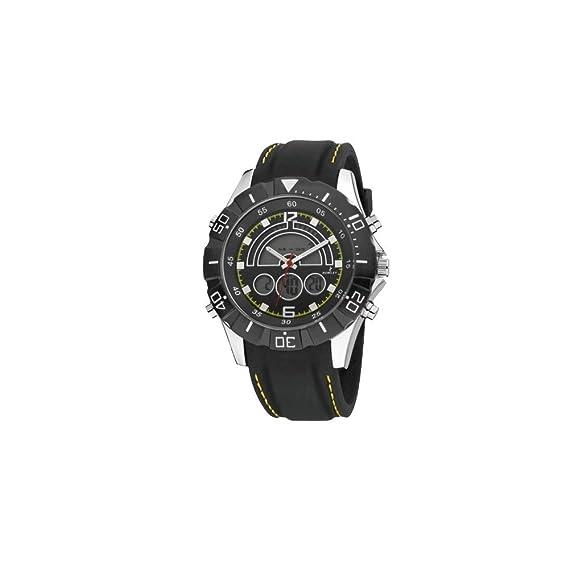 Reloj NOWLEY analogico-digital correa de caucho negro Ref. 8-5313-0-3: Amazon.es: Relojes