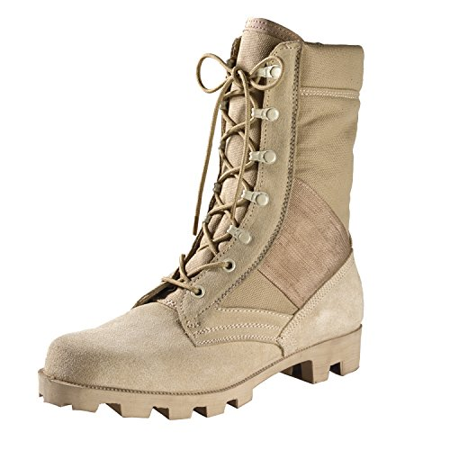 Gi Type Desert Tan Boot 10 US - Rothco Nylon Boot