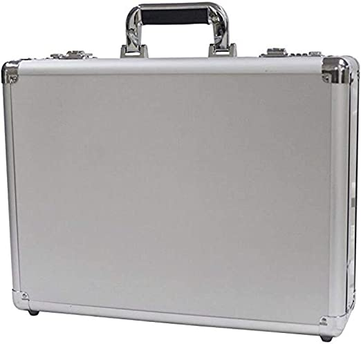 MMPY Caja de Herramientas portátil, maletín de Aluminio, maletín ...