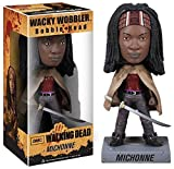 Walking Dead Michonne Bobble Head Figure x Wacky Wobbler Series