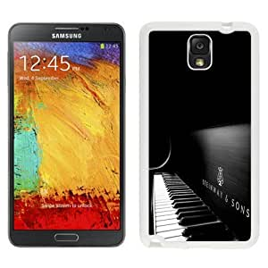 NEW Custom Designed For SamSung Galaxy S4 Mini Case Cover Phone With Steinway And Sons Black Piano_White Phone