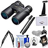Nikon Monarch 7 8×42 ED ATB Waterproof/Fogproof Binoculars with Case + Harness + Smartphone and Tripod Adapters + Monopod + Cleaning Kit Review