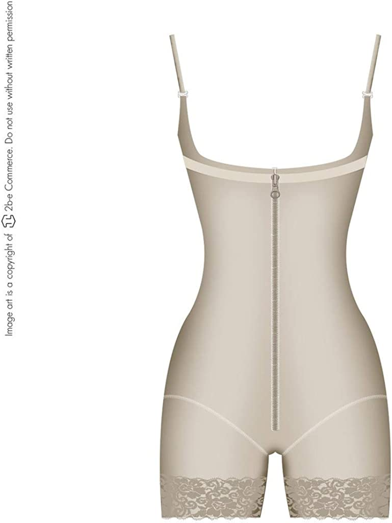 Fajas Colombianas Fajate/&Salome 0517//Gluteus Enhancer Sleeveless Shaper Girdle