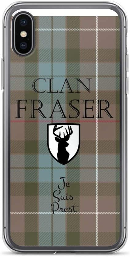 X Case 8 Fraser Scottish Clan Tartan IPhone 6 7