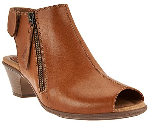 Brown Sand Earth Kristy Women's Bootie qwCHg1