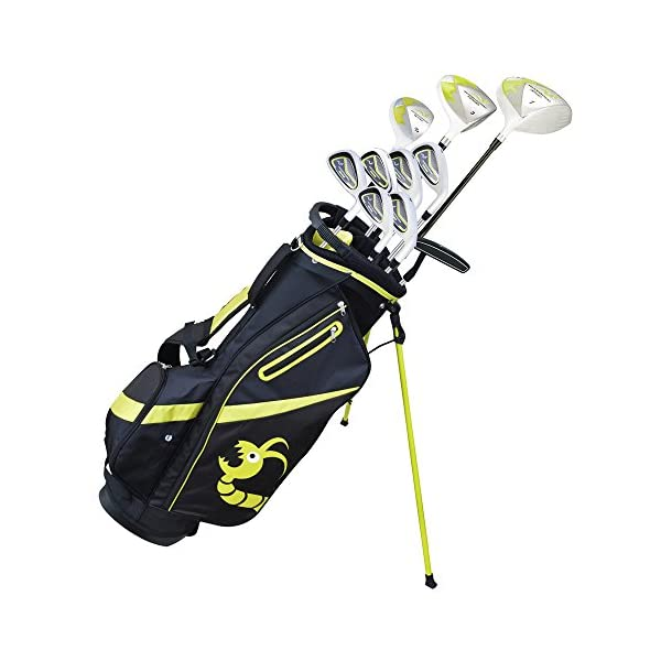 Woodworm-ZOOM-Mens-Golf-Clubs-Pack-Set-with-Bag