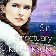 Of Sin & Sanctuary: A Revelry's Tempest Novel Audiobook by K.J. Jackson Narrated by Anais Inara Chase