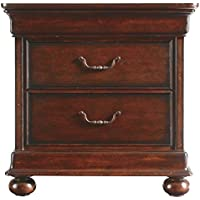 Stanley 058-13-80 Portfolio Louis Philippe Night Stand, Orleans Finish