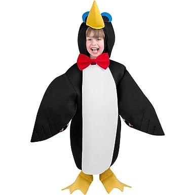 Disfraz de pingüino para niños (Talla 2-4T): Amazon.es: Ropa y ...