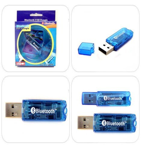 Wireless USB 2.4ghz Bluetooth 2.0 Dongle Adapter for Pc Laptop Notebook