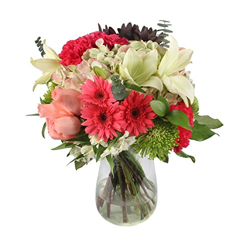 eFlowy Premium Vase Floral Arrangement Get Well by eFlowy